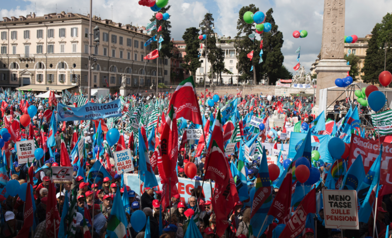 The Sostegni bis decree will also support the patronage of trade unions