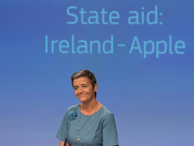 Брюссель подает апелляцию на решение ЕС по Apple и Ирландии