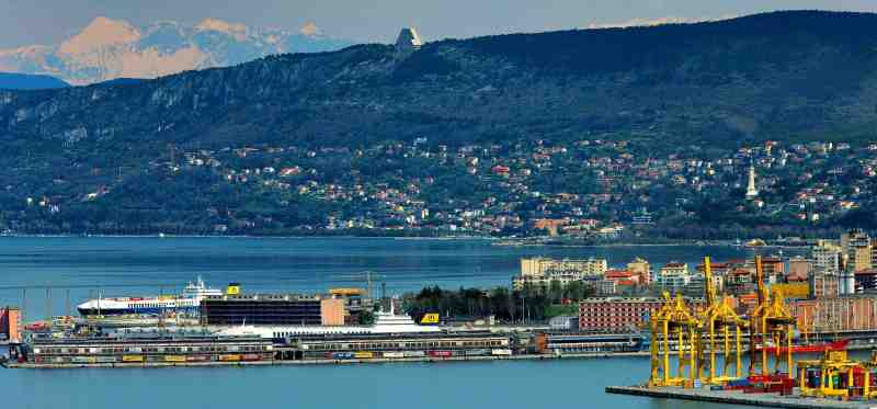 How are the business of the Port of Trieste struggling with the No green pass