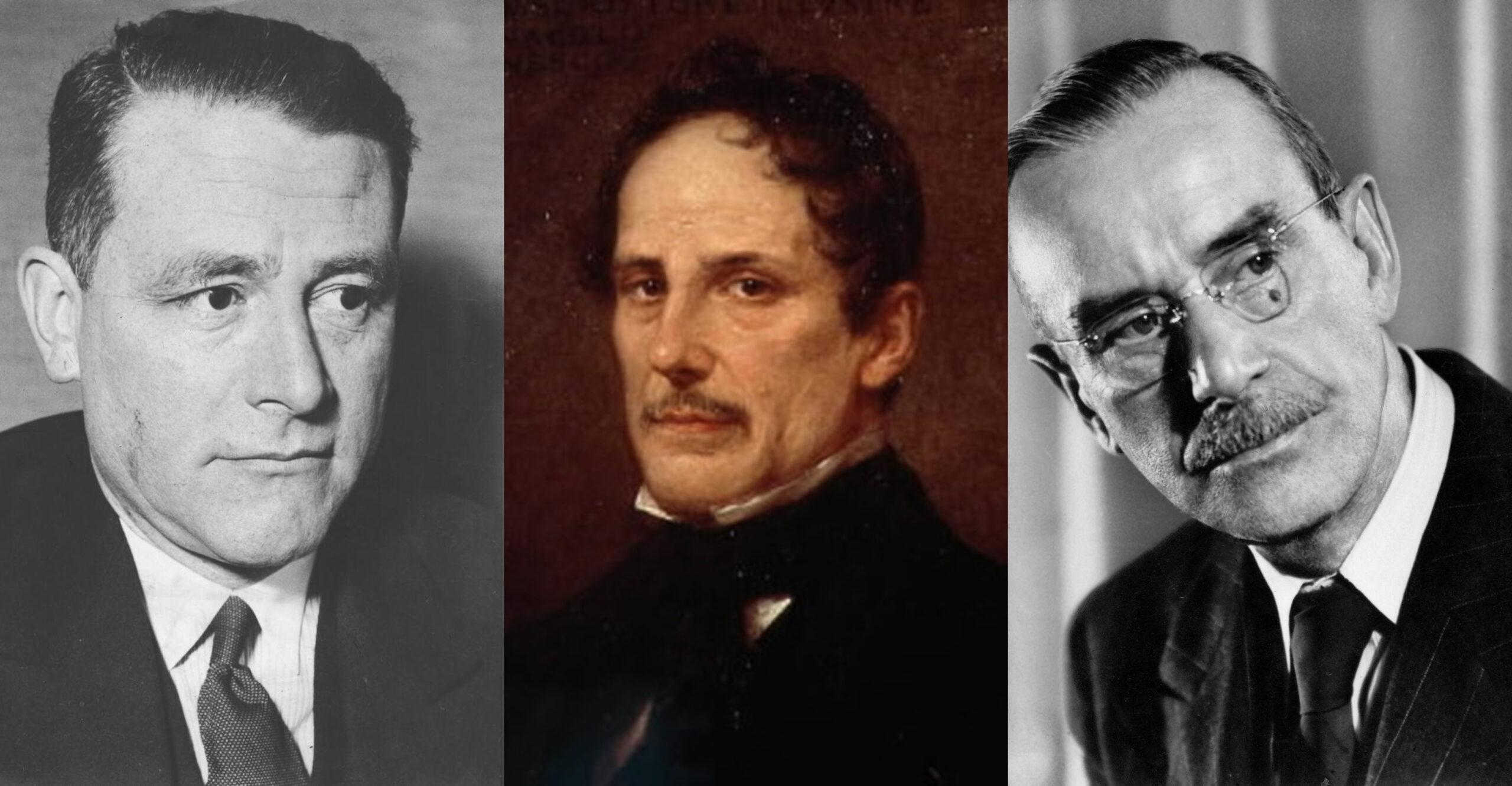 卡爾·施密特的世界史,喬阿基諾·貝利的羅馬喜劇,托馬斯·曼的膽汁酸路德