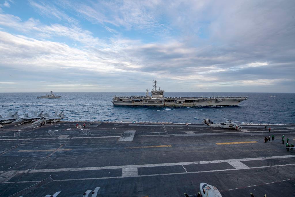 美國,法國,英國和德國如何在印度太平洋對中國進行機動
