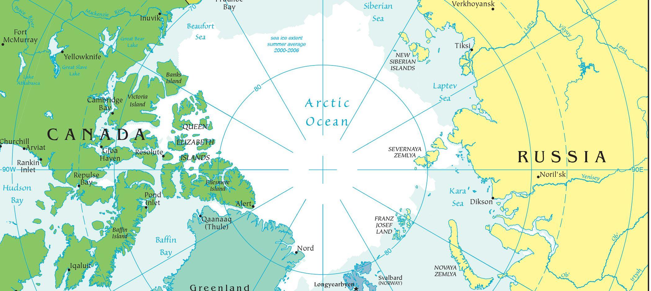 從蘇伊士到北極僅幾步之遙