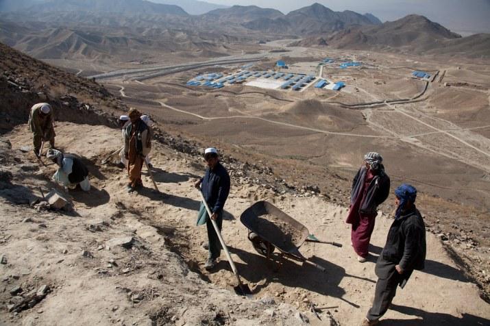 Toute l'harmonie dans le pipeline entre la Chine et les talibans sur le projet minier Mes Aynak