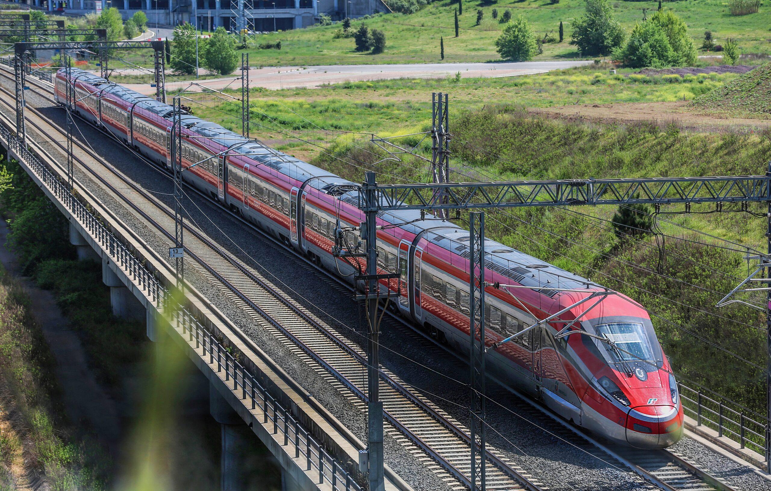 意大利鐵路的所有國外航線