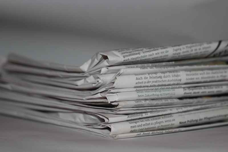 How are newspapers going in Italy?