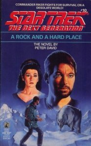 "41 ZX4mE9L. SL500  186x300 ""Star Trek: The Next Generation: 10 A Rock And A Hard Place"" Review by Deep Space Spines"