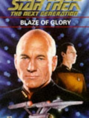 """Star Trek: The Next Generation: 34 Blaze Of Glory"" Review by Deepspacespines.com"