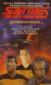 """41KYMH4G5FL. SL500  181x300 """"Star Trek: The Next Generation: 12 Doomsday World"""" Review by Deep Space Spines"""