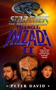 """41PVP2GQGJL. SL500  189x300 """"Star Trek: The Next Generation: Triangle: Imzadi II"""" Review by Literary Treks"""