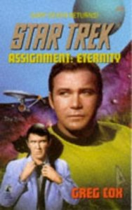 "41TF9368XDL. SL500  188x300 ""Star Trek: 84 Assignment: Eternity"" Review by motionpicturescomics.com"