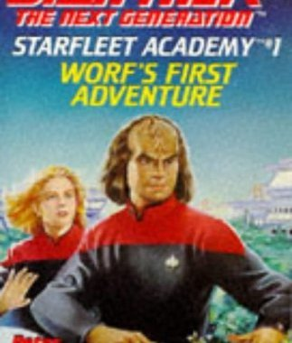 """Star Trek: The Next Generation: Starfleet Academy: 1 Worf's First Adventure"" Review by Deepspacespines.com"
