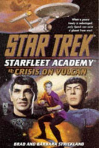 51C1QFX6FEL. SL500  Star Trek: Starfleet Academy: 1 Crisis On Vulcan Review by Deepspacespines.com