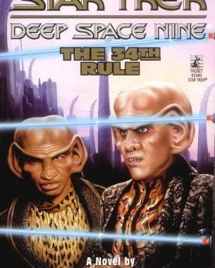 """""""Star Trek: Deep Space Nine: 23 The 34th Rule"""" Review by Trek Lit Reviews"""