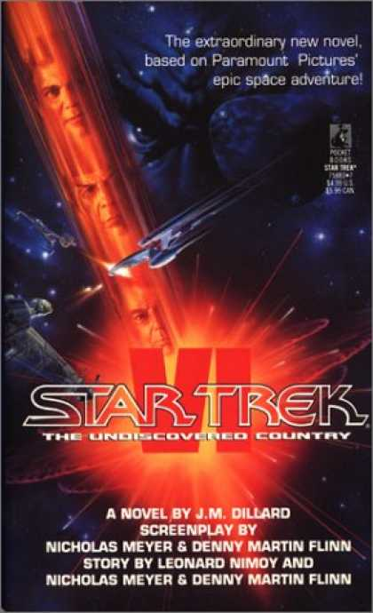 Star Trek: VI The Undiscovered Country Review by Deepspacespines.com