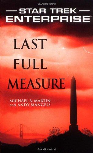 "41pE09uKwSL ""Star Trek: Enterprise: Last Full Measure"" Review by Trek Lit Reviews"