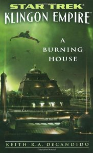 "51JJbBXfVCL 182x300 ""Star Trek: Klingon Empire: A Burning House"" Review by Literary Treks"