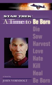 """cvr9781471107450 9781471107450 hr 185x300 """"Star Trek: The Next Generation: 1 A Time To Be Born"""" Review by Literary Treks"""