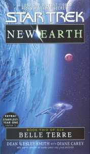 "belle terre st new earth 2 9780743411158 hr 177x300 ""Star Trek: New Earth: Book 2: Belle Terre"" Review by Trek Lit Reviews"