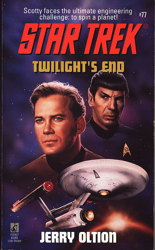 Star Trek: 77 Twilight's End Review by Deepspacespines.com