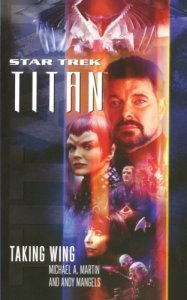"taking wing 187x300 ""Star Trek: Titan: Taking Wing"" Review by Literary Treks"