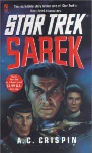 "51XRR1Q1N8L. SL500  181x300 ""Star Trek: Sarek"" Review by Trek Lit Reviews"