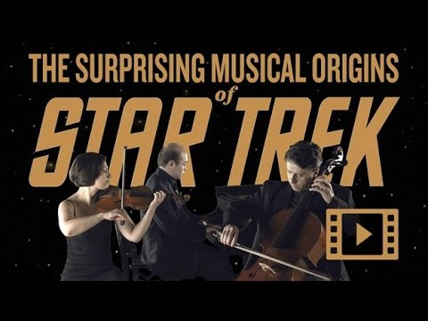 The Final Frontier – The Surprising Musical Origins of Star Trek