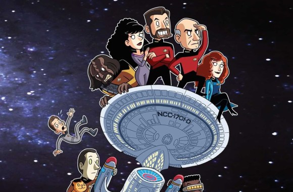 """New Trek Animated Series Announced by author of """"Star Trek: The Next Generation: Warped: An Engaging Guide to the Never-Aired 8th Season"""""""
