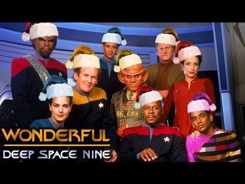"Captain Sisko & the DS9 Ensemble sing ""Wonderful Deep Space Nine"""