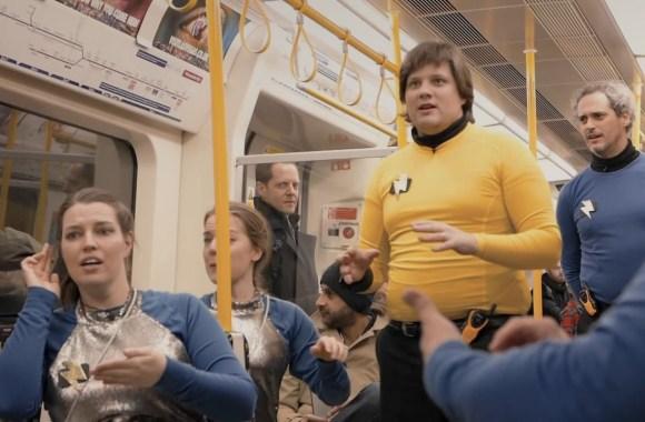 London Underground Space Shake!!