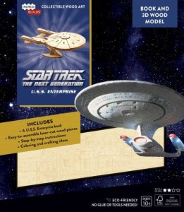 """incredibuild tng 261x300 Out Today: 3 different """"IncrediBuilds"""" books with model sets"""