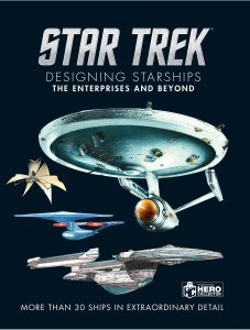 "910nrLSyJnL 227x300 Out Today: ""Star Trek Designing Starships Volume 1: The Enterprises and Beyond"""