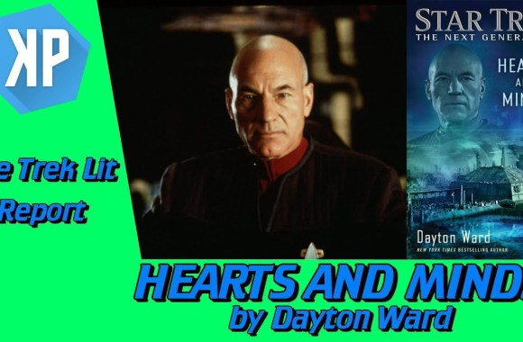 TREK LIT REVIEWS: TNG: Hearts and Minds by Dayton Ward