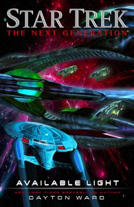 "bookcoverinset 195x300 ""Star Trek: The Next Generation: Available Light"" Review by TrekToday"