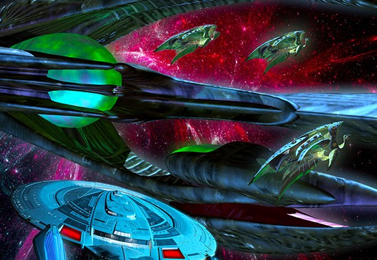 """Star Trek: The Next Generation: Available Light"" Review and Interview of Dayton Ward by Literary Treks"