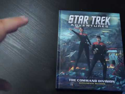 First look Star Trek Adventures Command Division