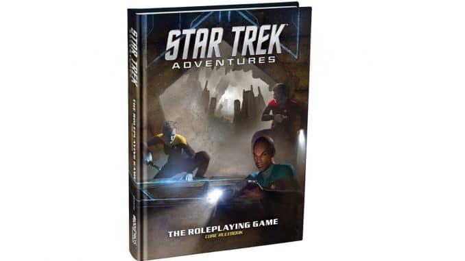 Review of Star Trek Adventures RPG by Blaine Pardoe