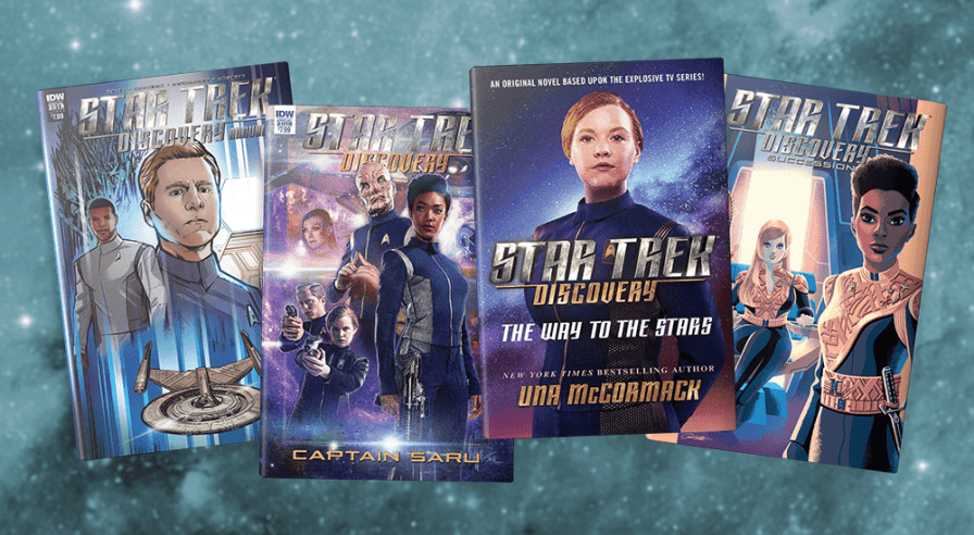 Hooray for Licensed Fiction! Part Deux — Yet Still More Star Trek Discovery Stories to Tide You Over until Season 3