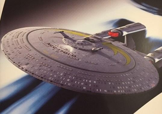 Eaglemoss I.S.S. Enterprise NCC-1701-D, with words by Dayton Ward!