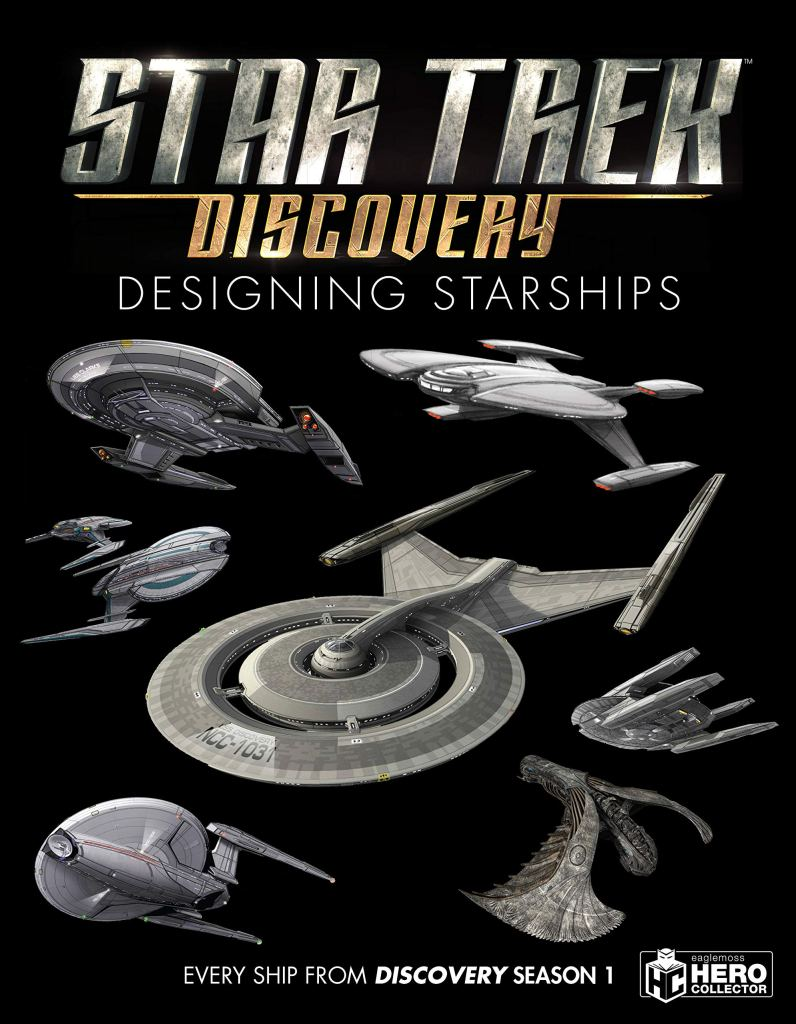 "91eiPaAaaqL 796x1024 Out Today: ""Star Trek: Designing Starships Volume 4: Discovery"""