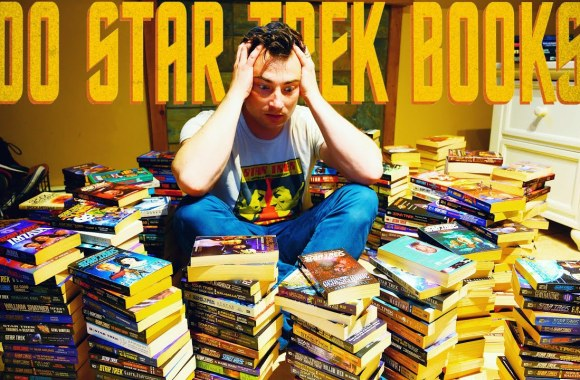 Why I Own Most of the STAR TREK Novels (But Haven't Read ANY!)