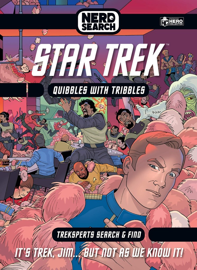 Eaglemoss Nerd Search Star Trek Quibbles with Tribbles 746x1024 New Book Announcement: Star Trek Nerd Search: Quibbles with Tribbles