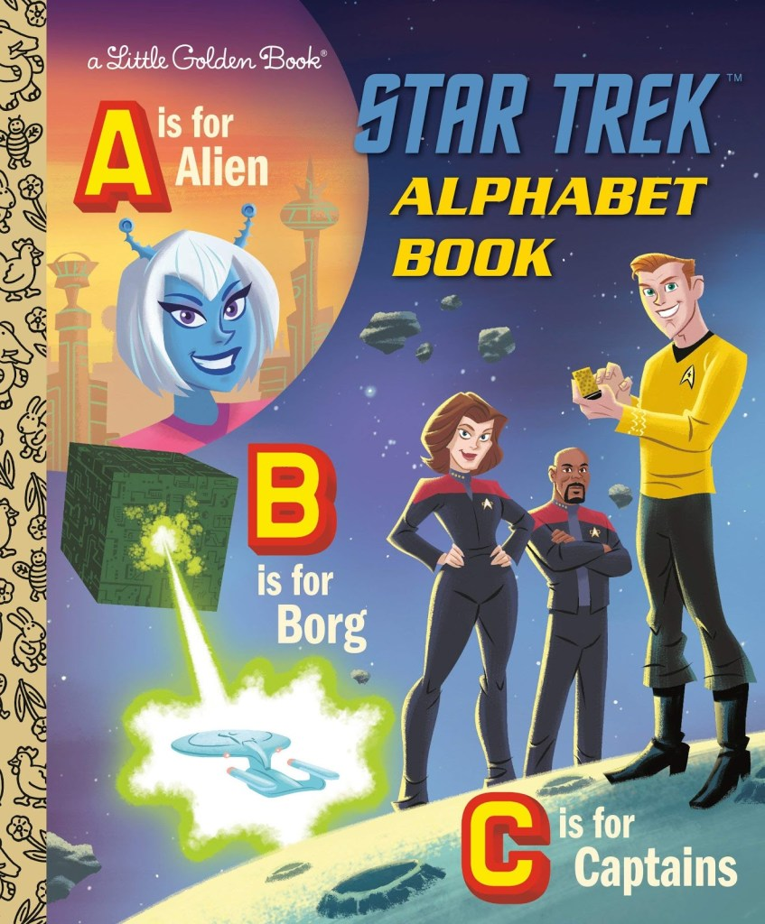 Out Today: Little Golden Book Star Trek Alphabet Book