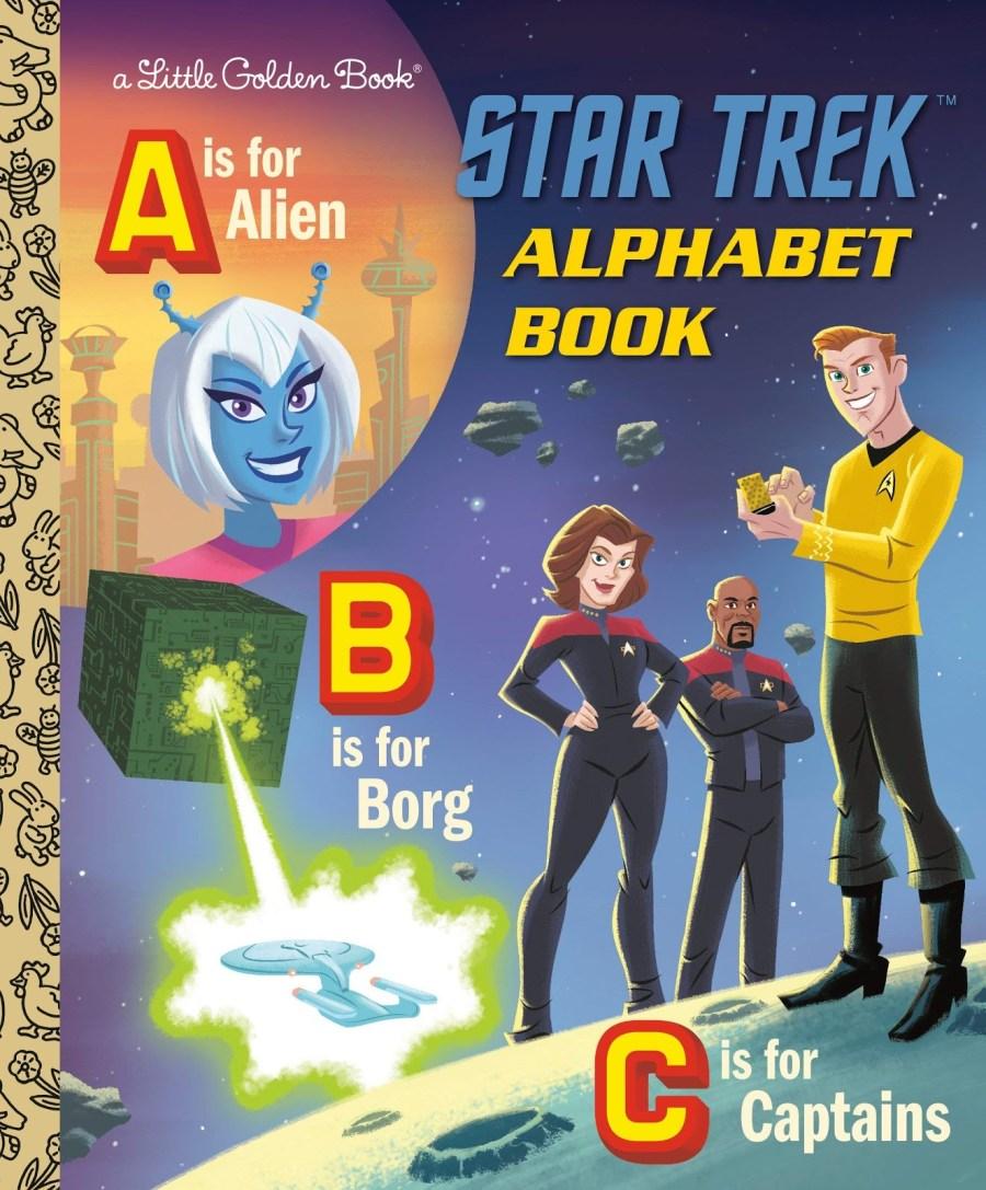 Little Golden Book Star Trek Alphabet Book 2020 Year In Review