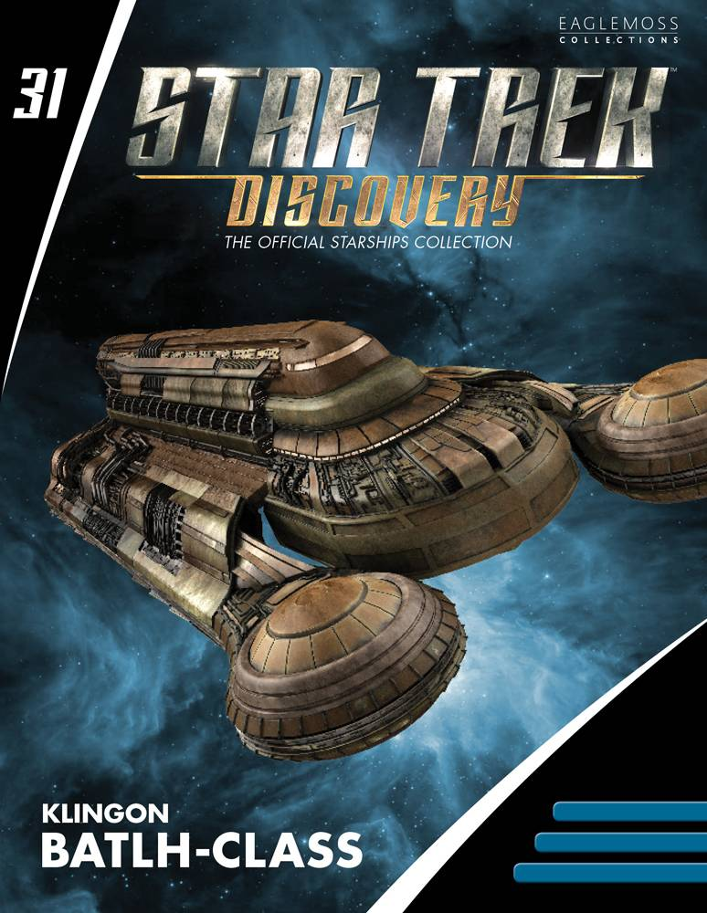 Out Today: Star Trek: Discovery: The Official Starships Collection #31 Klingon Batlh Class Starship