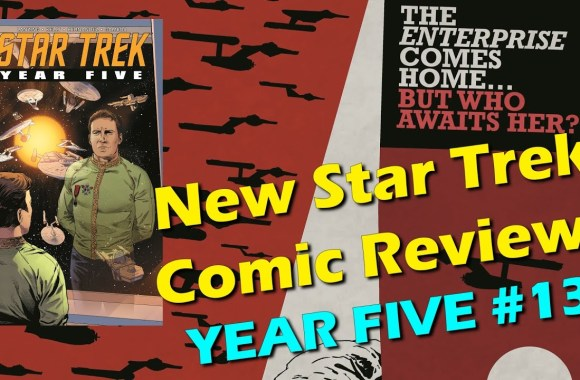 """The Federation is Dying!"" – Star Trek: Year Five #13 – Comic Review (SPOILERS!)"