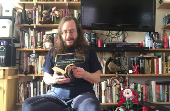 KRAD COVID readings #91a: Trek Tuesday! STAR TREK: S.C.E.: FATAL ERROR Part 1