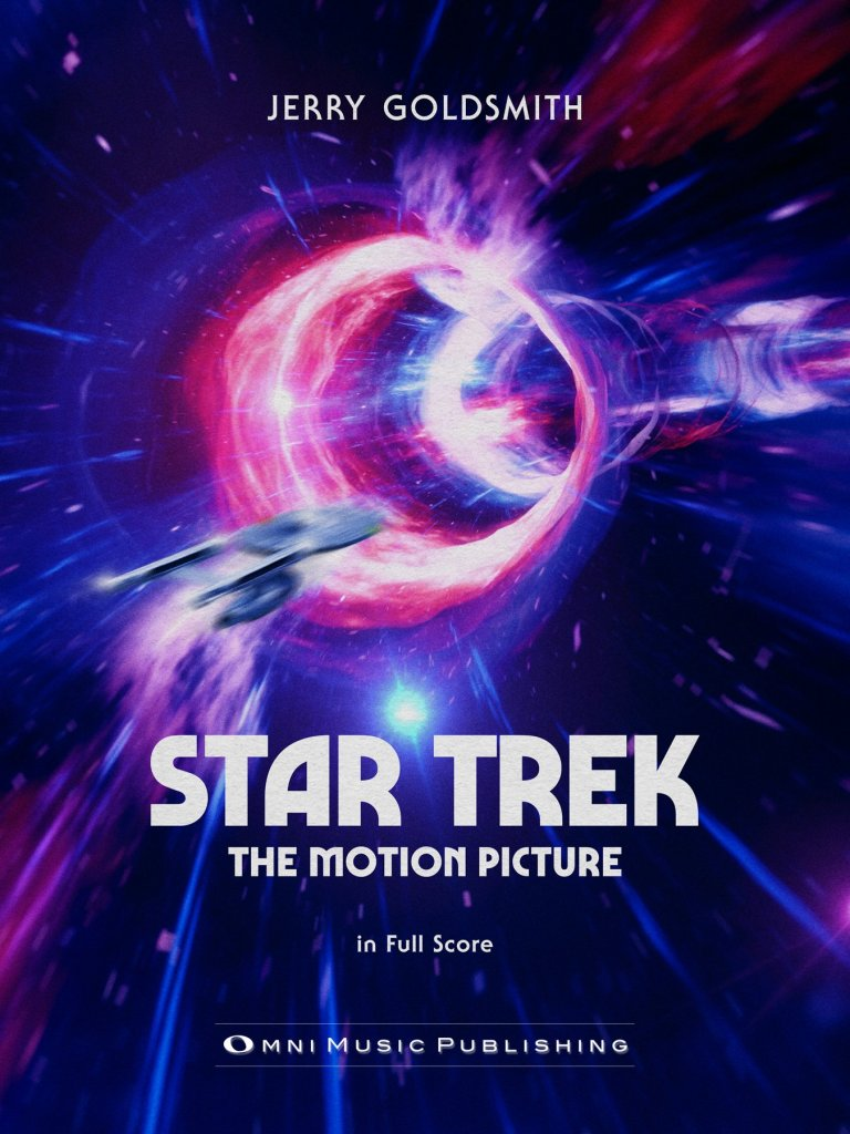 """New Book Added: """"Star Trek: The Motion Picture"""" Full Orchestral Score"""