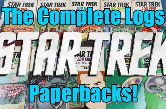 The Complete – Classic Star Trek – TOS –  Alan Dean Foster – Star Trek Animated – Log Paperbacks!