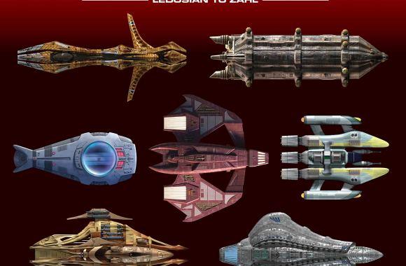 "New Book Added: ""Star Trek Shipyards: The Delta Quadrant Vol. 2 – Ledosian to Zahl"""