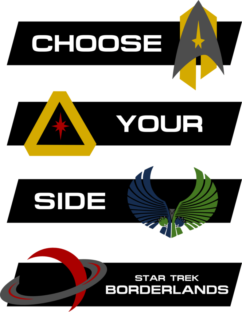 Choose your side: Star Trek Borderlands